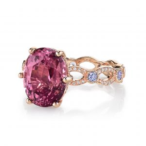 Garnet Annalise Ring